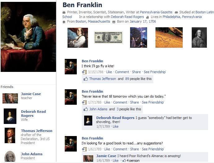 ben franklin facebook