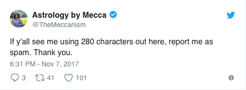 The Meccanism Tweet